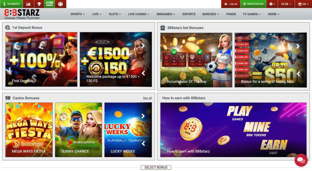 888starz casino bonuses